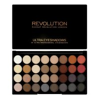 Палетка теней Makeup Revolution Ultra 32 Shade Eyeshadow Palette Flawless 2