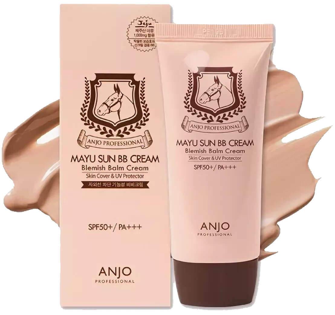 "Картинки по запросу ""Anjo professional Mayu sun BB cream SPF50+/PA+++"""