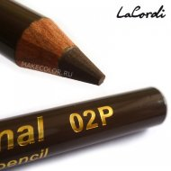 Карандаш для бровей пудровый LaCordi Professional №02P Кора дерева
