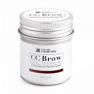 Хна для бровей CC Brow в баночке, 10 гр dark brown