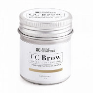 Хна для бровей CC Brow в баночке, 5 гр light brown